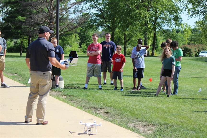Surveying Tech Company Shows Kids the Ropes (and Drones!)