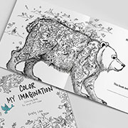Coloring book by Kristy Lau