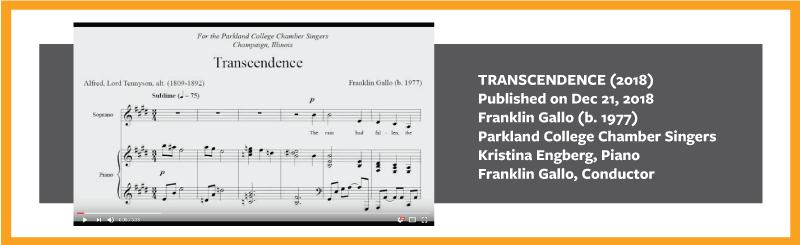 Franklin Gallo Transcendenct