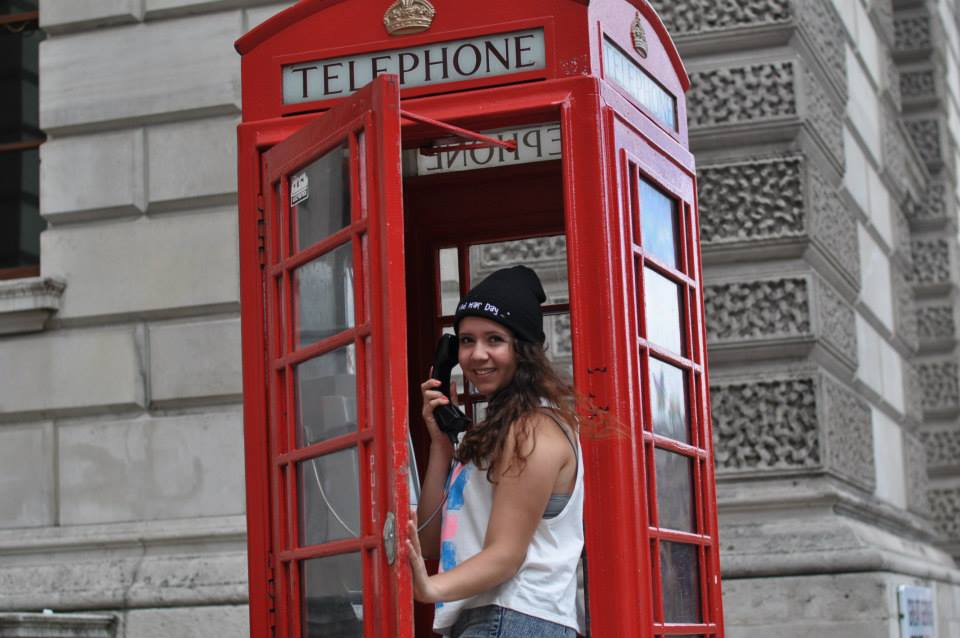 england phone booth