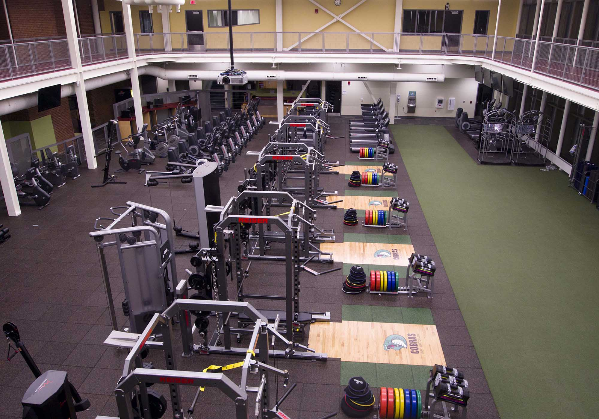 Fitness Center equiptment