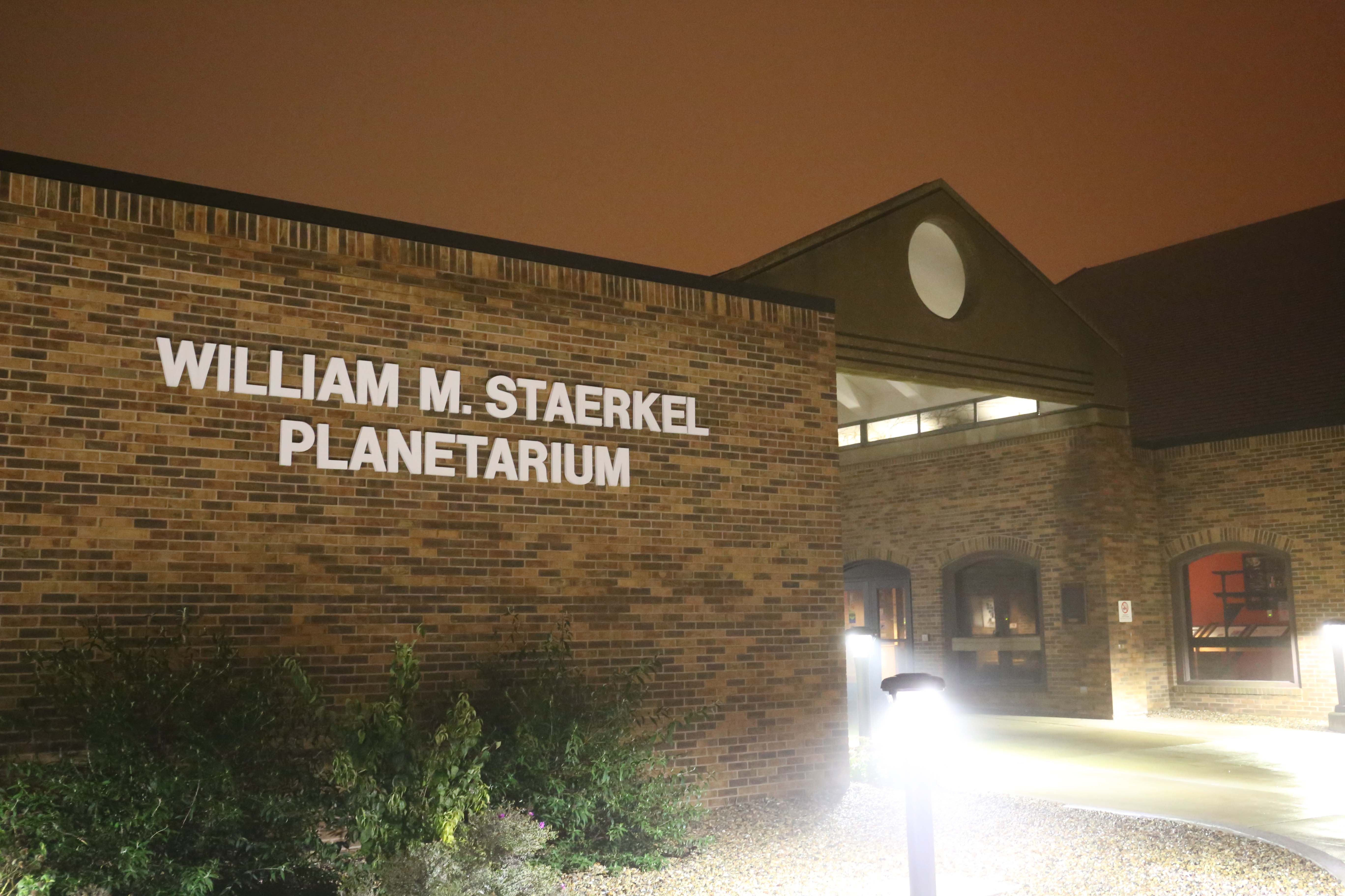 exterior photo of the Planetarium