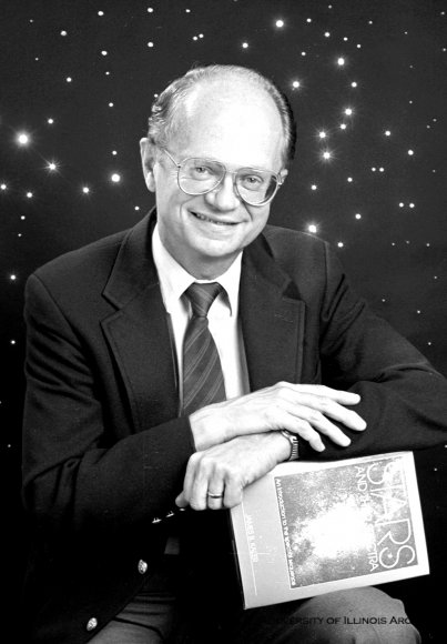 UIUC astronmer Jim Kaler, photo from University of Illinois Archives