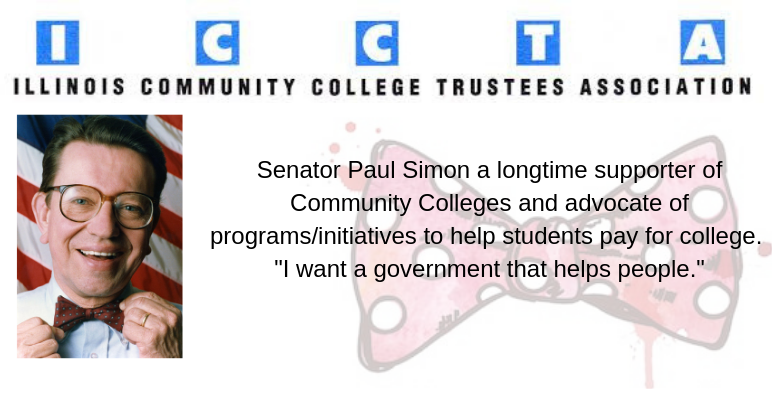 Senator Paul Simon a longtime supporter of Community Colleges (1)